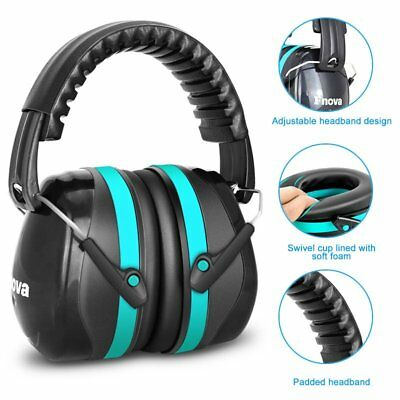 Adult Kids Earmuff 34dB Highest NRR Safety Ear Muffs, Shooting Hearing Protector