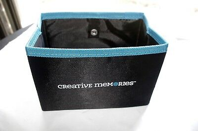 Creative Memories Mini Storage Box or Collapsible Bin - BNIP