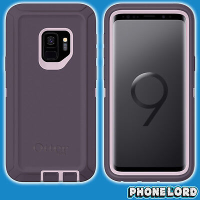 Genuine OtterBox Defender case cover for Samsung Galaxy S9 GS9 PLUS Purple NEW