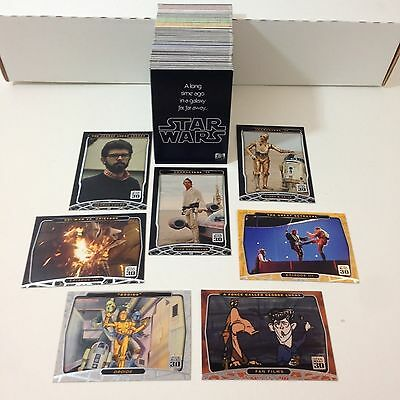Star Wars 30th Anniversary - Complete Card Set (1-120) 2007 Topps @ Near Mint