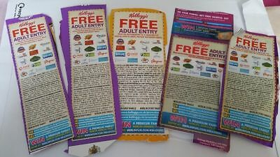 2 x KELLOGGS FREE ADULT ENTRY VOUCHER - 2 FOR 1 -  Merlin