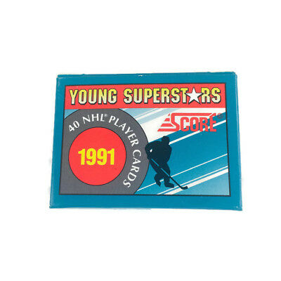 1991 Score NHL Young Superstars 40 Player Cards Set. P3
