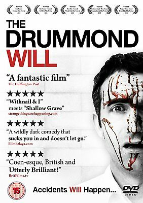 The Drummond Will Region 2 DVD Mark Oosterveen Phillip James - New and Sealed