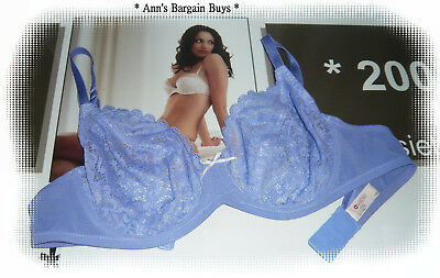 Lovable-Ladies Size-12D-Sexy-Sheer-Lace-Under Wire-Bra-Purple