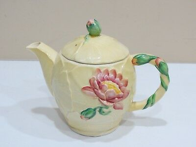 Vintage CARLTON WARE FLOWER AUSTRALIAN DESIGNED TEA POT