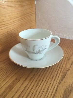 Kaysons Teacup and Saucer- design inside. Golden Rhapsody fine China of Japan