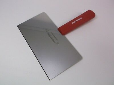 Dexter S198H 8X4 High Heat Griddle Scraper Red Handle Factory 2nd XLNT Condition