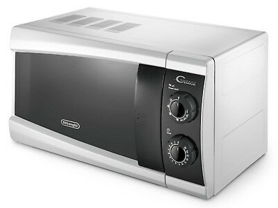 DeLonghi MW200.1W Mikrowelle Grill Funktion Microwelle Microwave 700 W 20Liter