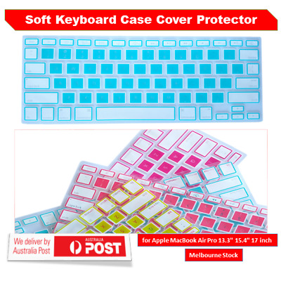 "Invisible Keyboard Protector Skin Cover For Macbook 15.6 inch Laptop 15.4"" 13.3"""