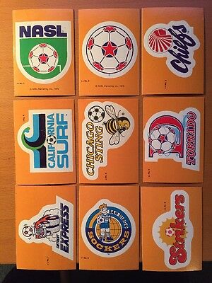 1979 Topps NASL Complete Set Stickers 1-33 Puzzle