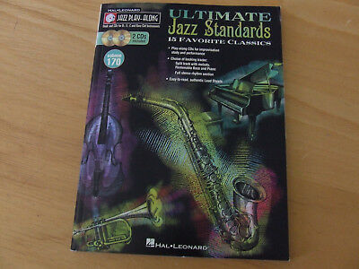 Ultimate Jazz Standards-15 Favorite Classics-Book and CD for Bb-Eb-C Instruments
