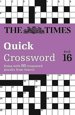 The Times Quick Crossword by Times Mind Games Staff