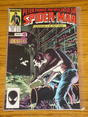 Spiderman Spectacular #131 Vol1 Marv Kraven Saga Scarce October 1987