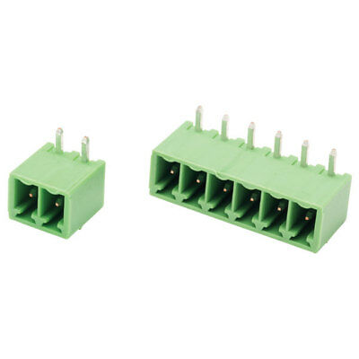 CamdenBoss 12 Way 10A Pluggable Terminal Block Side Entry Header 3.81mm Pitch