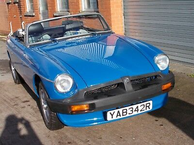 Mgb Roadster  2 Owners From New