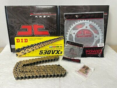 Triumph Tiger 1050 Chain And Sprocket Kit 07-13 Heavy Duty Did Gold X-Ring