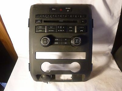 11 12 13 Ford F150 Radio Cd Face Plate Replacement CL3T-18A802-HA JL1994
