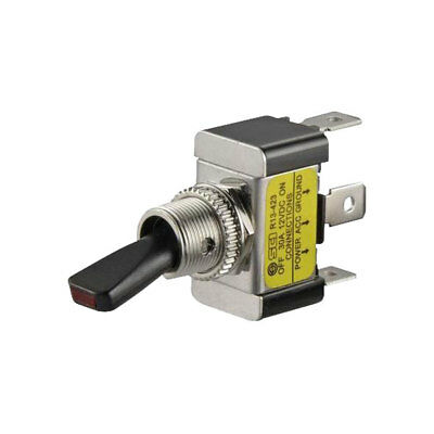 SCI R13-423L RED 30A Toggle Switch 12VDC 1P 12V On-Off