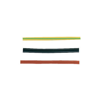 Unistrand 5m Black Mains Cable Sleeving 6mm
