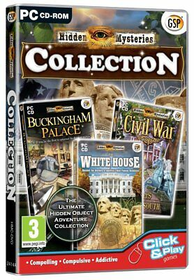 Hidden Mysteries Collection Triple Pack (PC CD) BRAND NEW SEALED