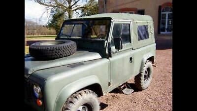 Land Rover 90 Full Canvas hood with side windows (Khaki/Green) SPECIAL OFFER!!