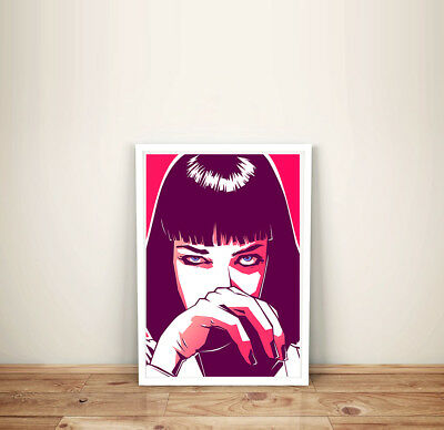 Pulp Fiction Movie Poster Film A4 Print Image