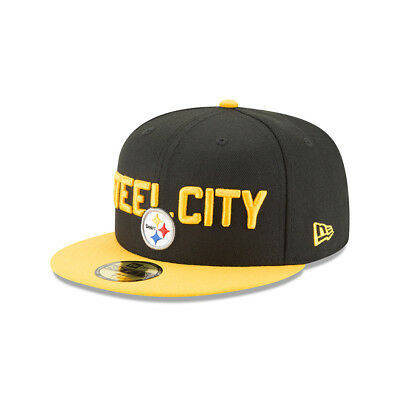 New Era NFL PITTSBURGH STEELERS Authentic 59FIFTY Onstage 2018 Draft Cap NEU/OVP