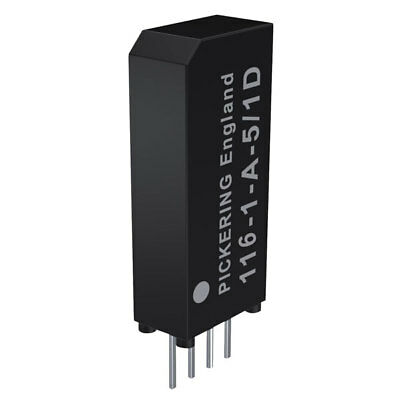 Pickering Very High Density 116-1-A-5/2D - 1 Form A SPST 5 Volt coil Reed Relay