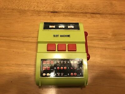 Vintage Personal Electric Slot Machine By Waco - Tested/works - Rare