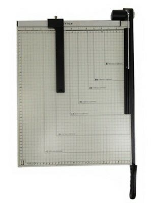 """PAPER CUTTER - 15"""" x 12"""" inch - METAL BASE TRIMMER NEW"""