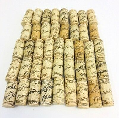 Chateau Ste Michelle Wine Corks-Lot of 43-Washington State-Used Craft Recycle