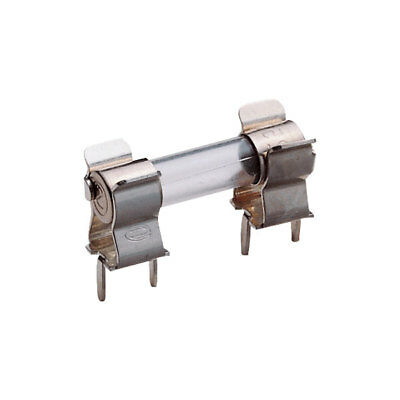 ESKA 120.800H Fuse Clip For 5x20mm Fuses 6.3A