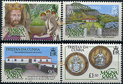 Tristan DaCunha. 2015. The 800th Anniversary of the Magna Carta (MNH OG)