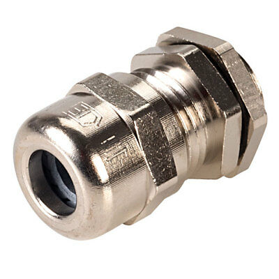 Hylec 50.009 PG9 Brass Dome Cable Gland