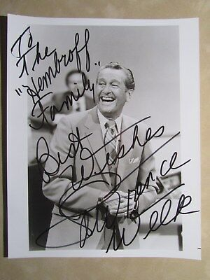 8x10 photo hand signed & inscribed by entertainer LAWRENCE WELK