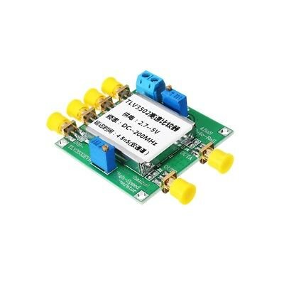 TLV3502 Dual Channel High Speed Comparator Module 4.5ns Delay Time
