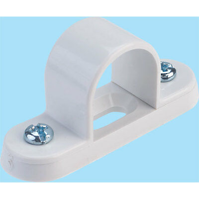 Schneider Electric ISM80054 Tower Spacer Bar Saddle 20mm White (Box of 100)