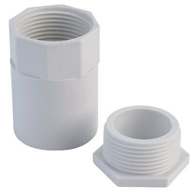 Schneider Electric ISM80156 Tower Female Adapter 25mm White (Box of 50)