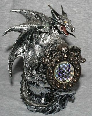 Dragon Statue Fantasy Mythical Gothic Magic Mystical Figure Decorative Ornament