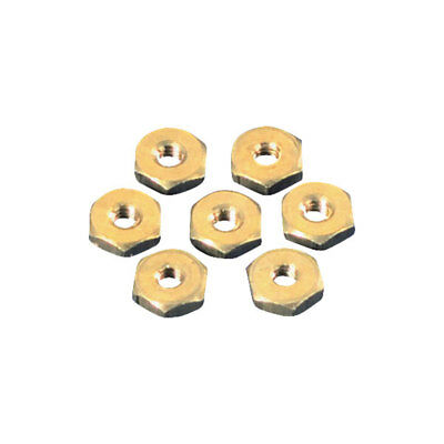 Toolcraft Brass Hexagonal Nuts DIN 934 M2.5 Pack Of 100