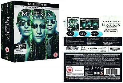 Matrix Trilogy 1999-2003, The Complete: +Reloaded+Revolutions 4K Uhd+Blu-Ray