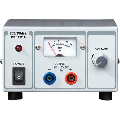 Voltcraft PS-1152A 22.5W Single Output Variable DC Bench Power Supply