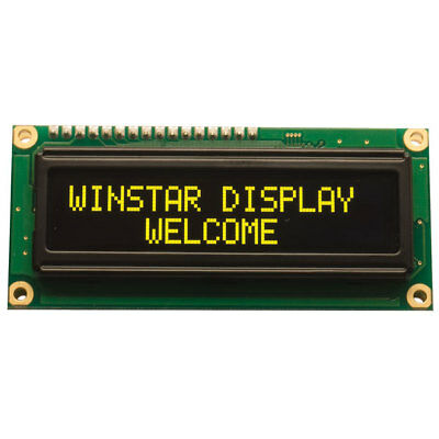 Winstar WEH001602C 16x2 OLED Display, Yellow 85x36x10mm