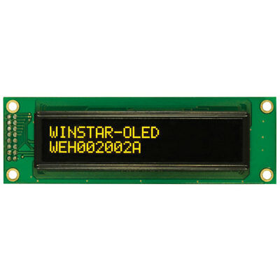 Winstar WEH002002A 20x2 OLED Display, Yellow