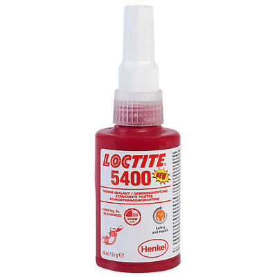Loctite 1953597 5400 Health & Safety Friendly Medium Strength Pipe Seal 50ml