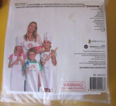 Masterchef junior apron + chef's hat