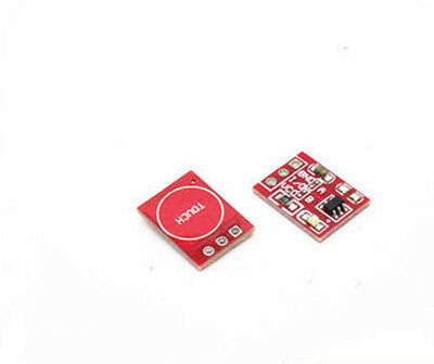 10PCS TTP223 Capacitive Touch Switch Button Self-Lock Module Sensor for Arduino