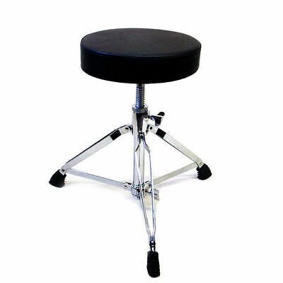Drum Seat Stool Throne Thread Style Heavy Duty Padded Top DP Percussion DP1B