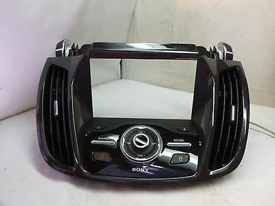 2013-2015 Ford Escape Sony Radio Face Plate Control Panel CJ5T-18K811-FD DM027
