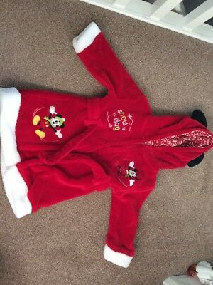 Disney Store Minnie Mouse Dressing Gown Age 18 - 24 Months